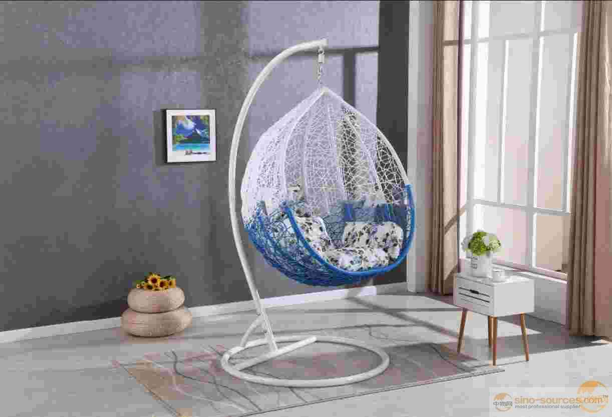 Leisure PE Rattan Hammock Hanging Swing Chair