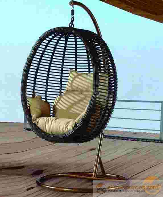 Outdoor Patio Rattan Swing Chair
