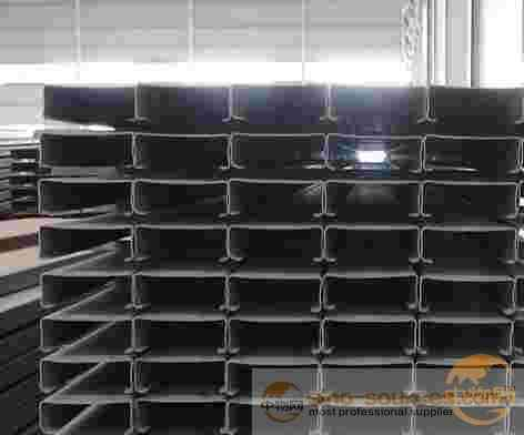 type steel solar powered support slot c channel with hole
