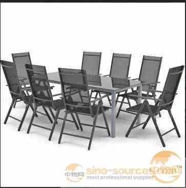 Best selling aluminum outdoor patio furniture in europe market