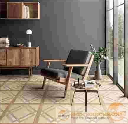 600*600mm wood design rustic ceramic floor tiles