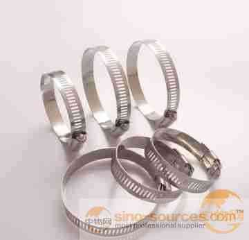 Stainless steel Adjustable Clamping Screw band gear hose clamp