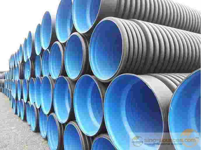 HDPE double wall currugated pipe for municipal sewage system