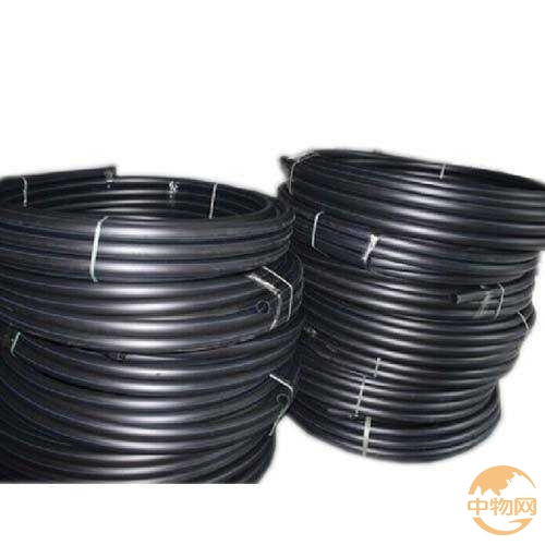 Pe Black Plastic Water Pipe For Drinking Line Roll