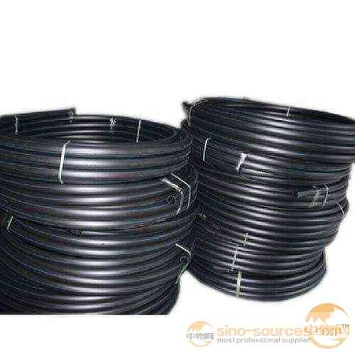 PE black plastic water pipe for drinking water line plastic pe tube roll