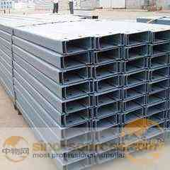 Structural Steel Type q235 c channel steel price for building