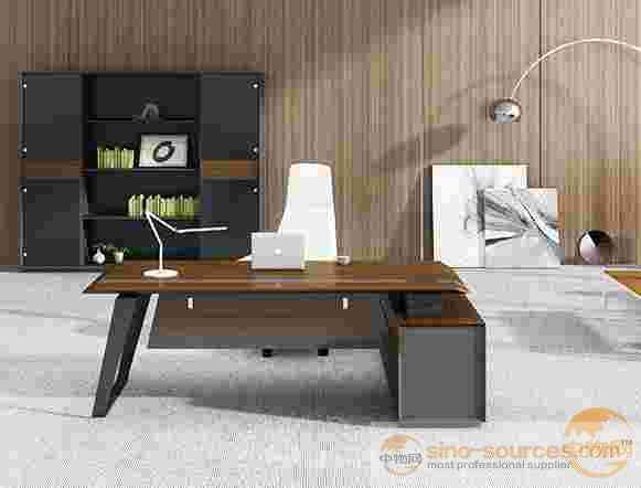 China Factory Mdf Office Furniture Hypotenuse Edging Modern Solid Wood