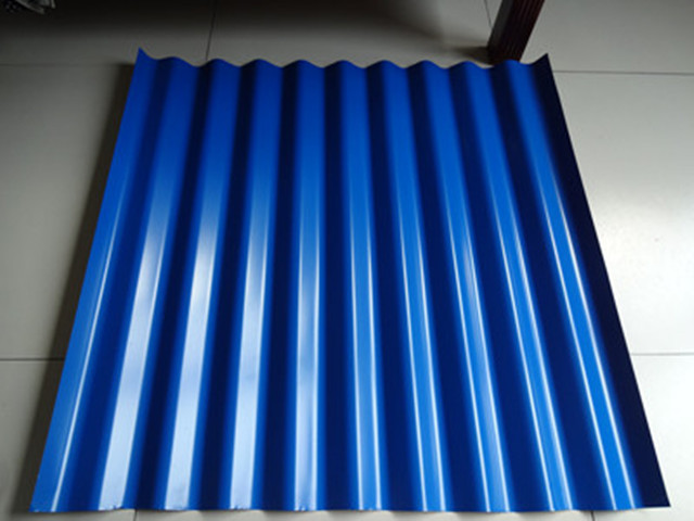 Colorful roofing steel sheets