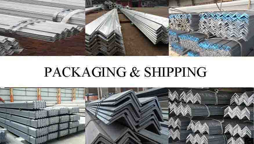 Packaging and Shipping of Angle Steel Bar