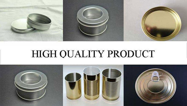 High Quality Tinplate Products