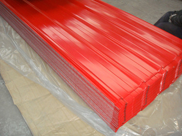 Colour Corrugated Roofing Sheet