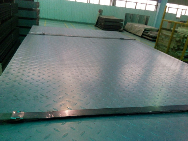 steel checkered plate