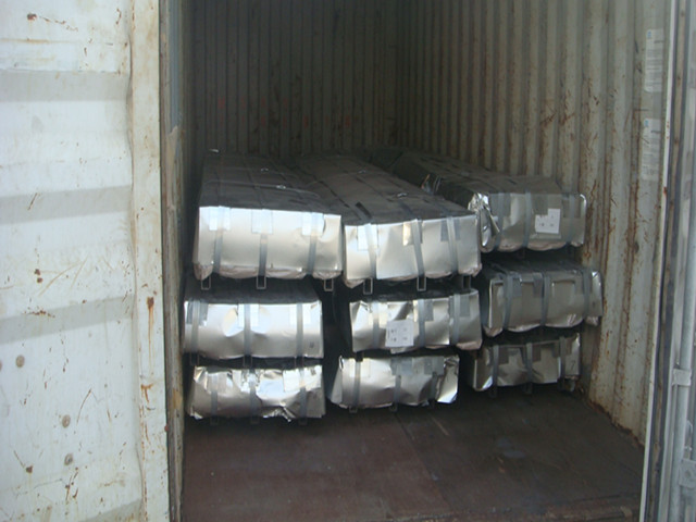 corrugated steel roofing sheet
