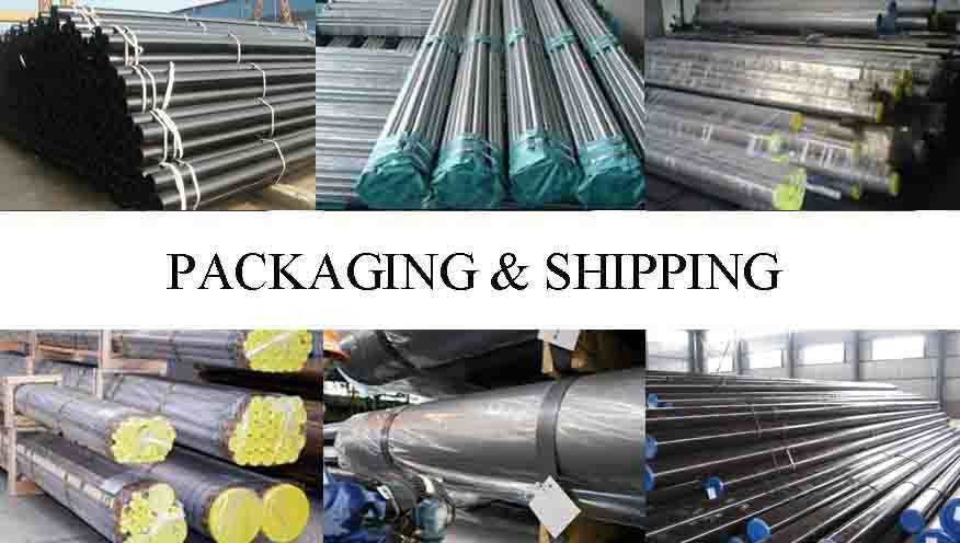 packaging and shipping of stainless steel pipe
