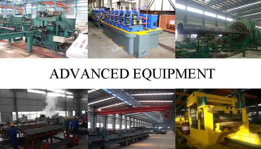 advanced equipment to manufacture stainless steel pipe