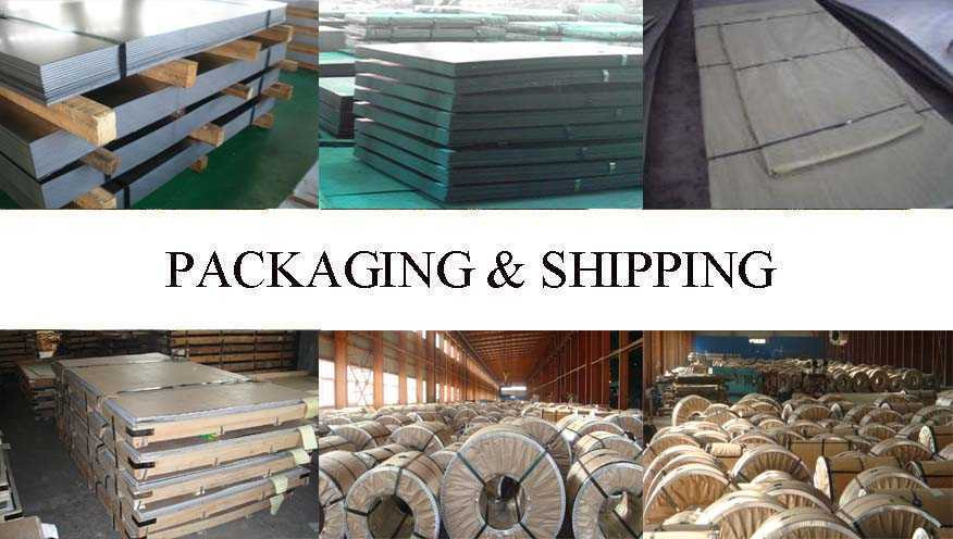 Packaging and shipping of Steel sheet and plate