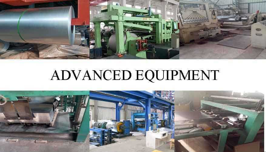ADVANCED EQUIPMENT OF Cold rolled steel coils
