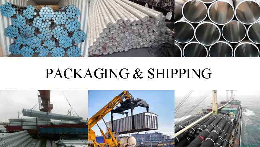 Packaging and shipping of High quality Steel Tube Supplier in Kuwait