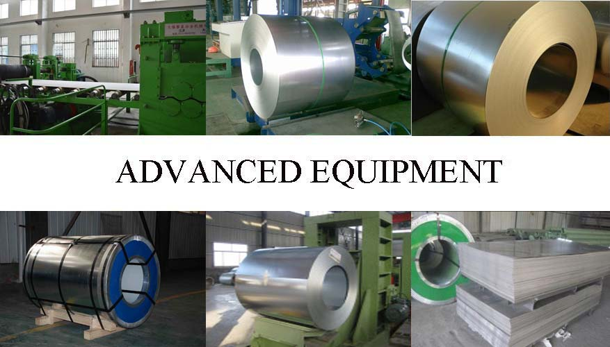 Advanced Equipment of Galvanized steel sheet with the best price