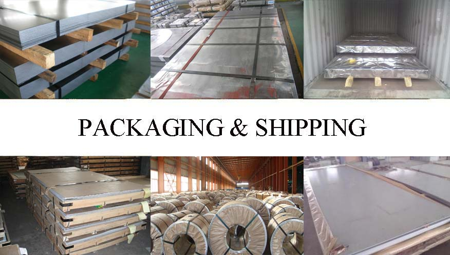 Packaging and shipping of Galvanized steel sheet