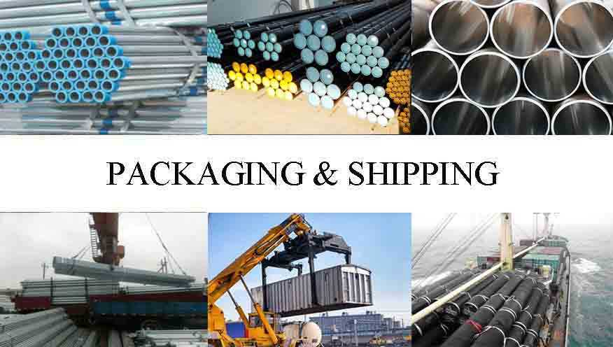Packaging and shipping of Hot sale  Steel Tube Manufaturer In Jordan