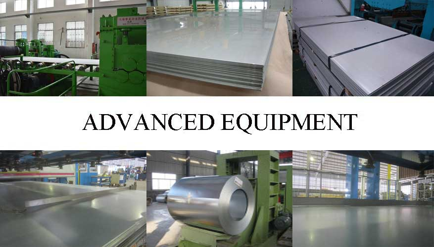 Equipment of hot rolled steel plate
