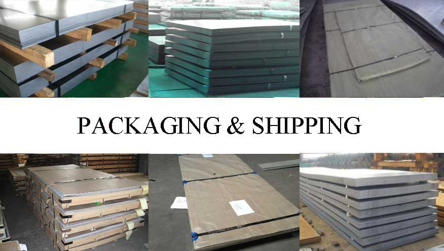 Packaging and Shipping of hot rolled steel plate