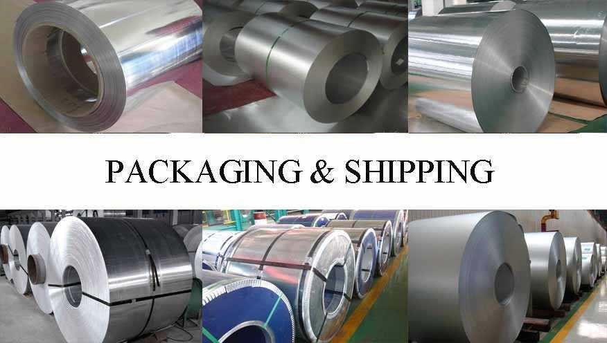 Packaging and Shipping of Aluminum coil from factory