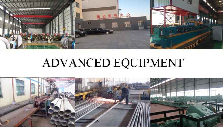 advanced equipment of high quality and hot sale stainless steel welded pipe