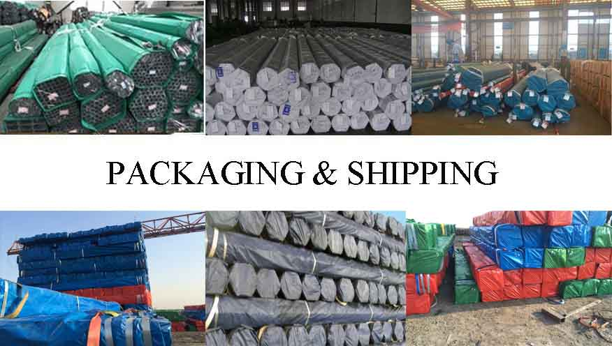 packing and shipping of high quality and hot sale stainless steel welded pipe