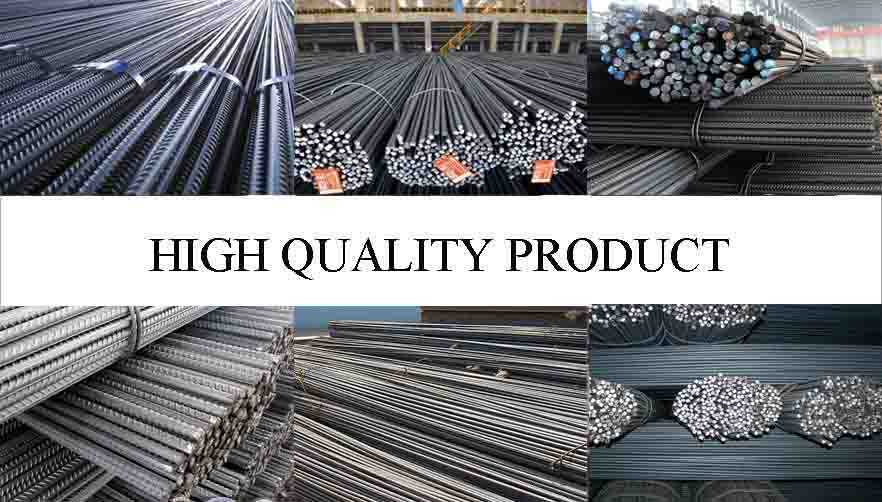 high quality product of constructional used reinforced deformed bars manufacturers