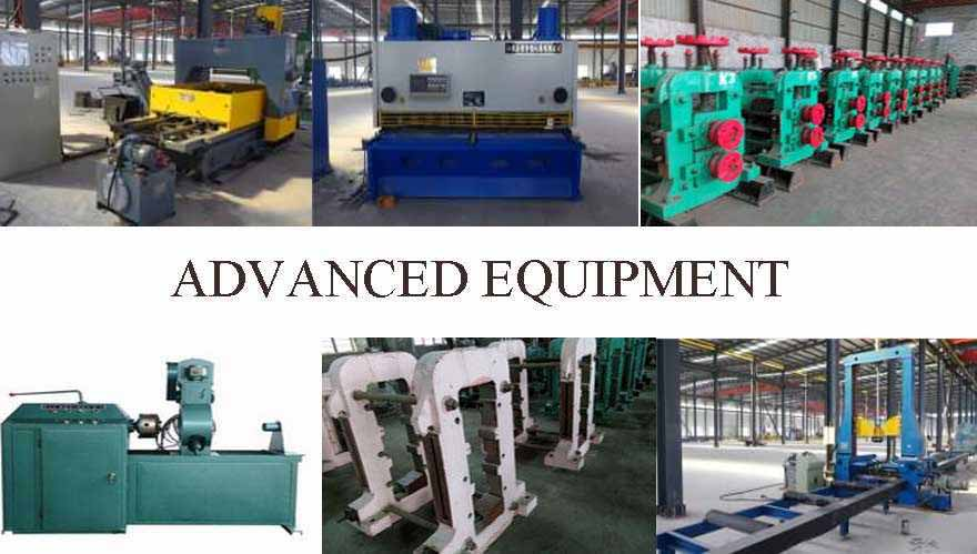 advanced equipment of Steel Beams Manufacturer