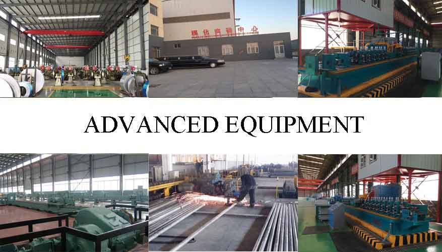 advanced equipment of professional and high quality stainless Pipe
