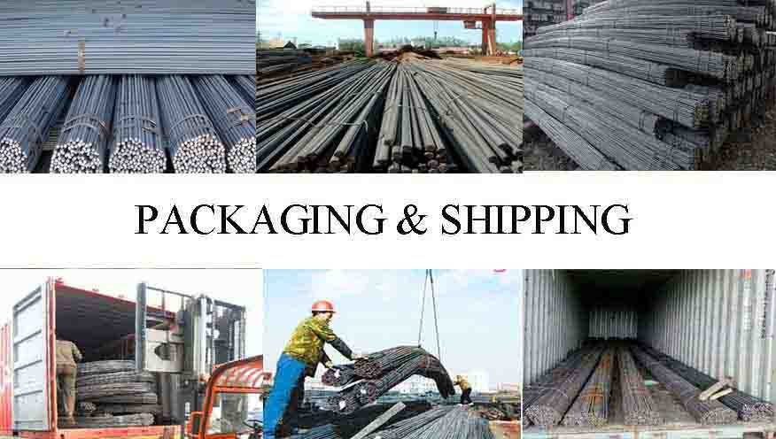 packaging & shipping of ASTM Deformed Bar Manufacturer