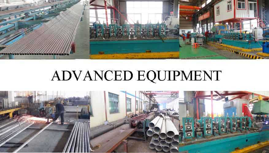 advanced equipment of high quality Stainless Pipe made in China