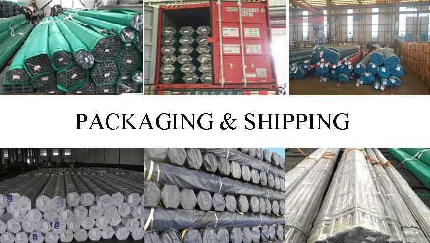 packing&shipping of high quality Stainless Pipe made in China