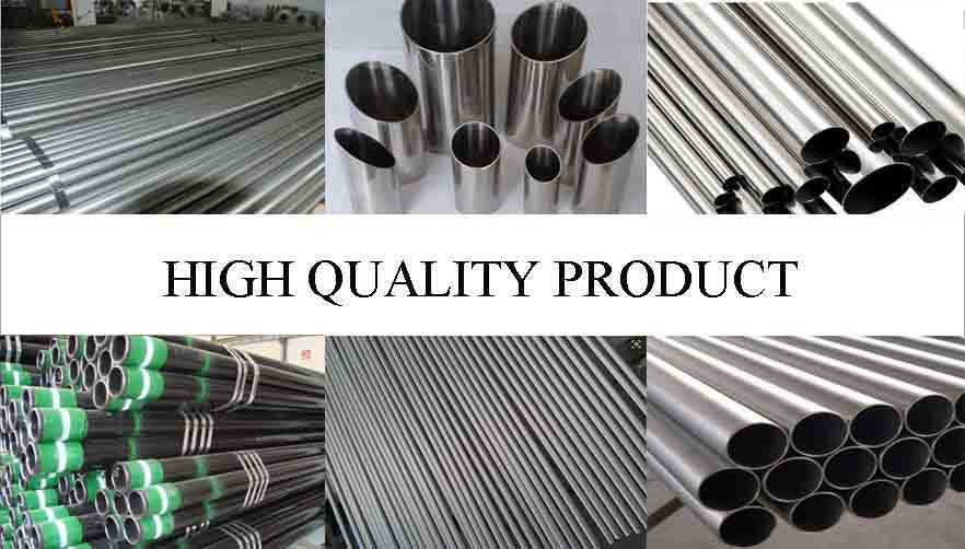 high quality product of ASTM-249 high quality stainless steel pipes made in China
