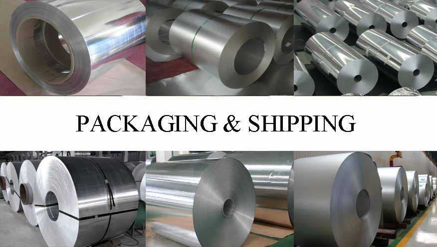 Packaging and Shipping of Aluminum coils with the best price