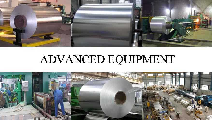 Advanced equipment of Aluminum Coils in different types