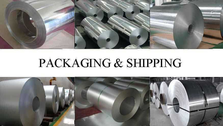 Packaging and Shipping of original Chinese Aluminum Coils