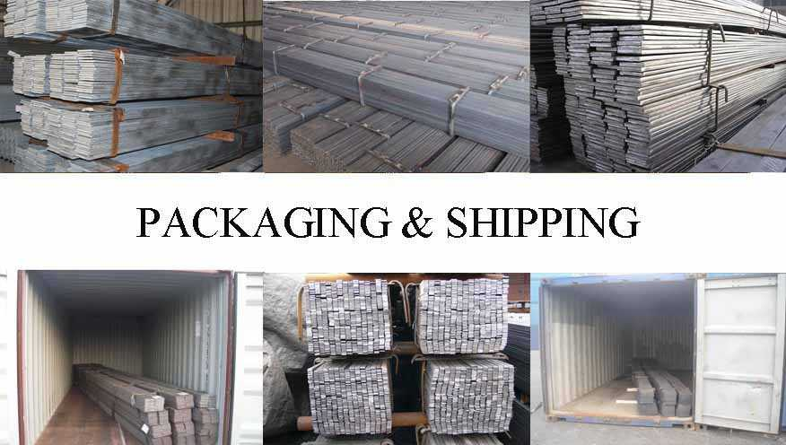 Packaging and shipping of Flat Bar Q195 Q235 Standard