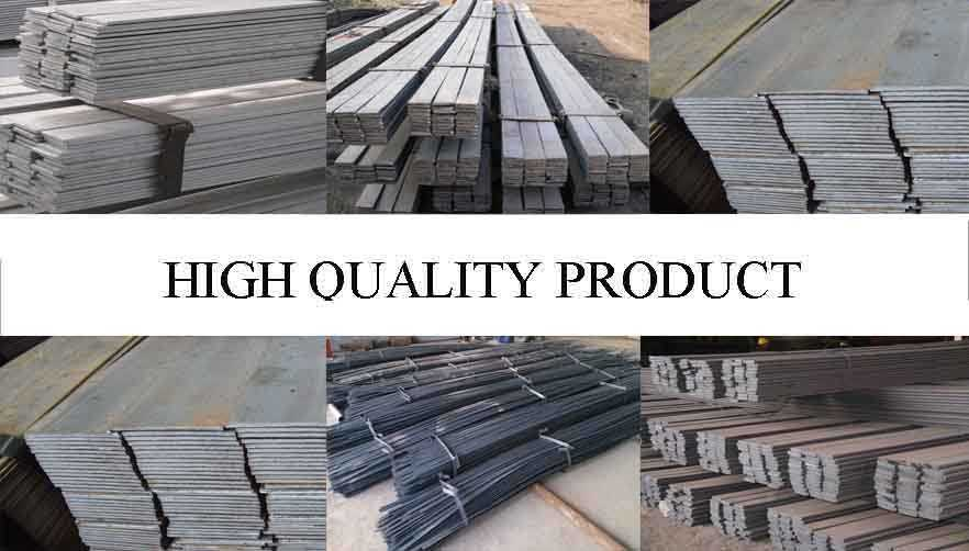 High quality product of High quality Flat bar SS400 supplier