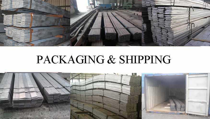 Packaging and shipping of High quality Flat bar SS400 supplier