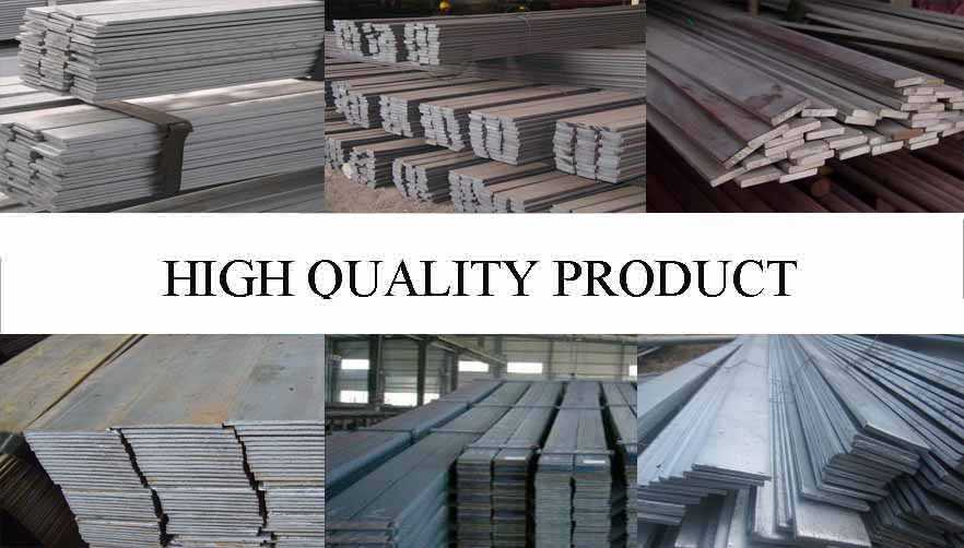 High quality product of Flat bar the factory price in China
