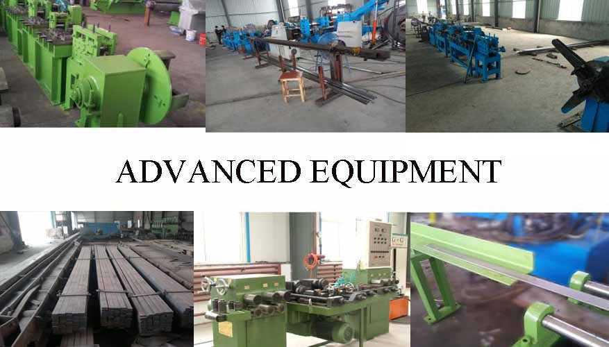 Equipment of Flat bar the factory price in China