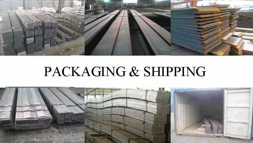 Packaging and shipping of Flat bar the factory price in China