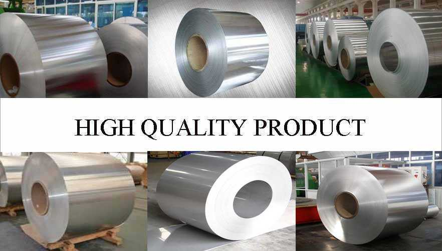 High quality product of mirror aluminum coil with the factory price