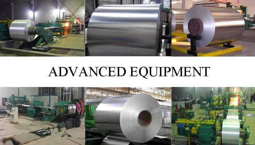 Advanced equipment of mirror aluminum coil with the factory price