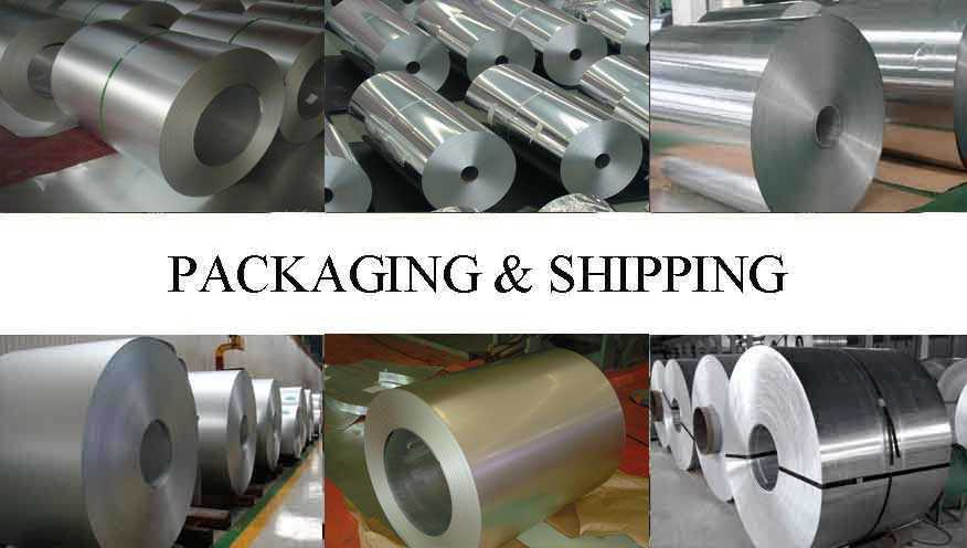 Packaging and shipping of mirror aluminum coil with the factory price