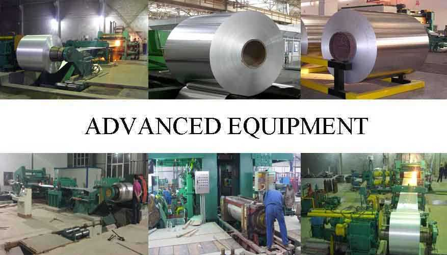 Advanced equipment of Hot sale aluminum coil roll with the cheap price